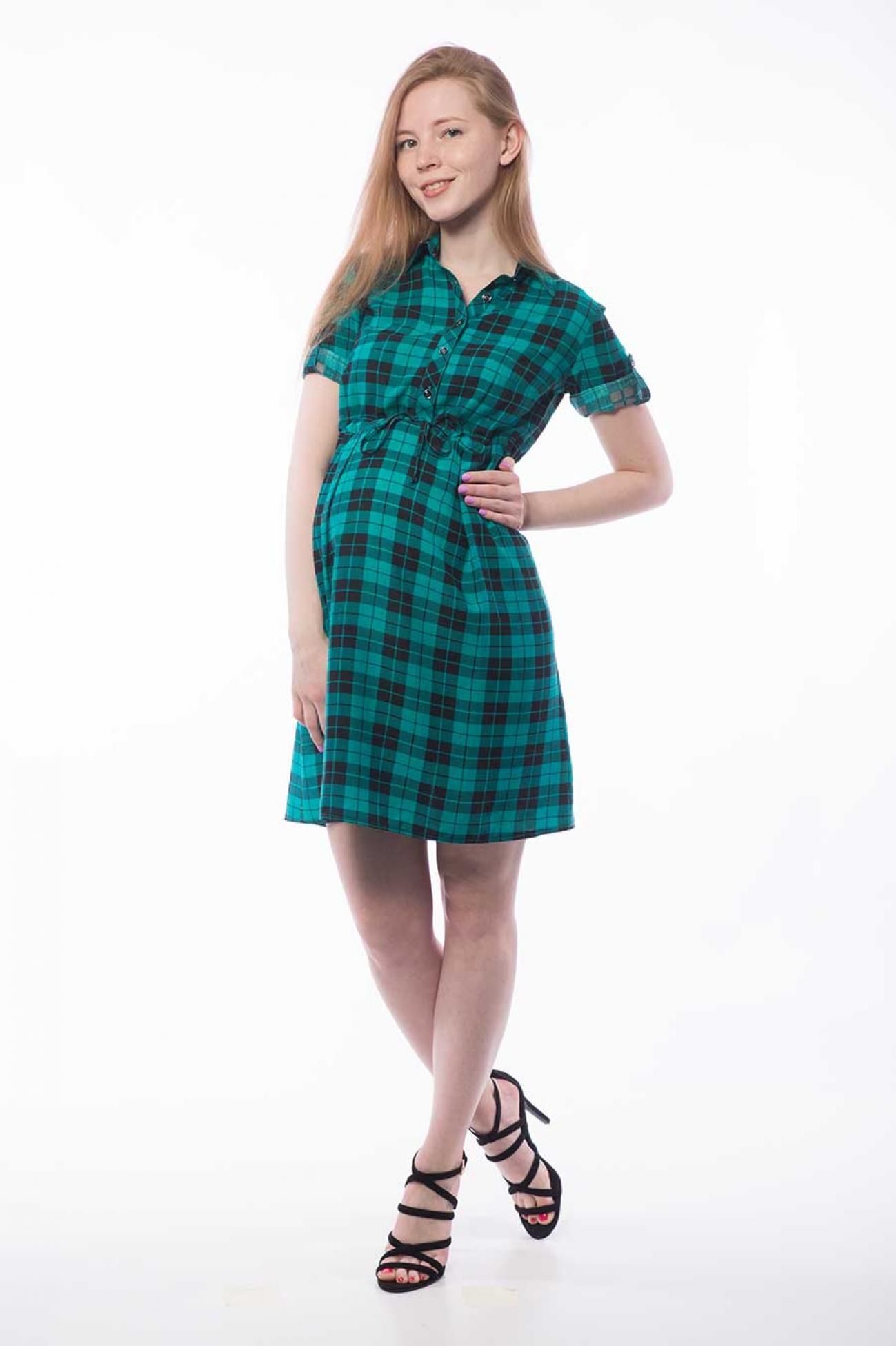 Платье-рубашка «Дина» для беременных и кормящих мам по цене 2240.00 ... d3c8fae1a45