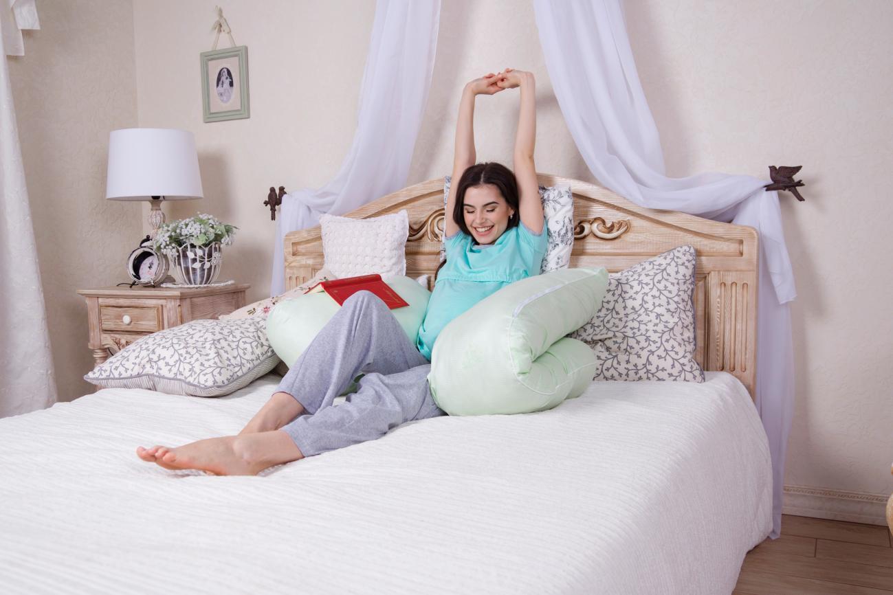 ... U-образная подушка для беременных и кормящих мам (МамаБэль) ... 7efafdcb84e
