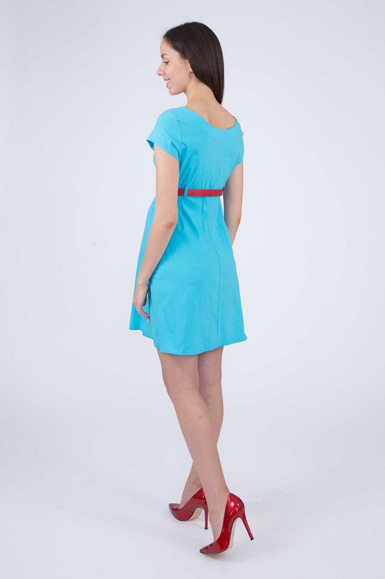 Летнее платье для беременных по цене 925.00 руб., купить в интернет ... bd5377f06b7