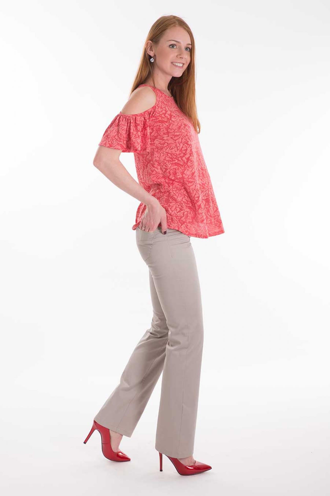 f12a6a99bb3b Блуза с воланами пляжная туника для беременных по цене 1540.00 руб ...