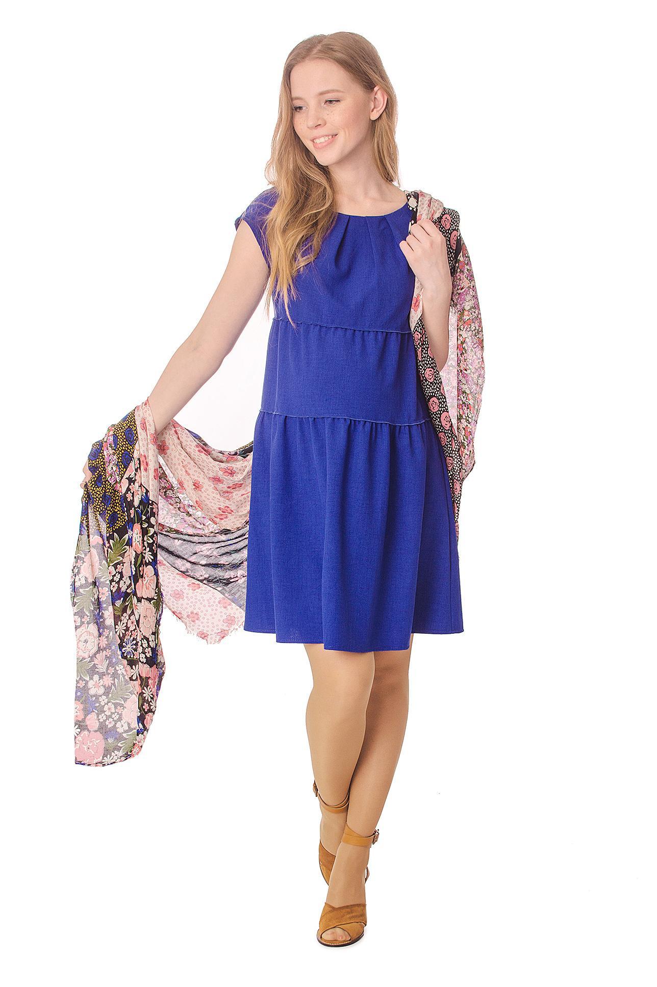 Платье «Колокольчик» синее по цене 1690.00 руб., купить в интернет ... 3cd2f95fdcd