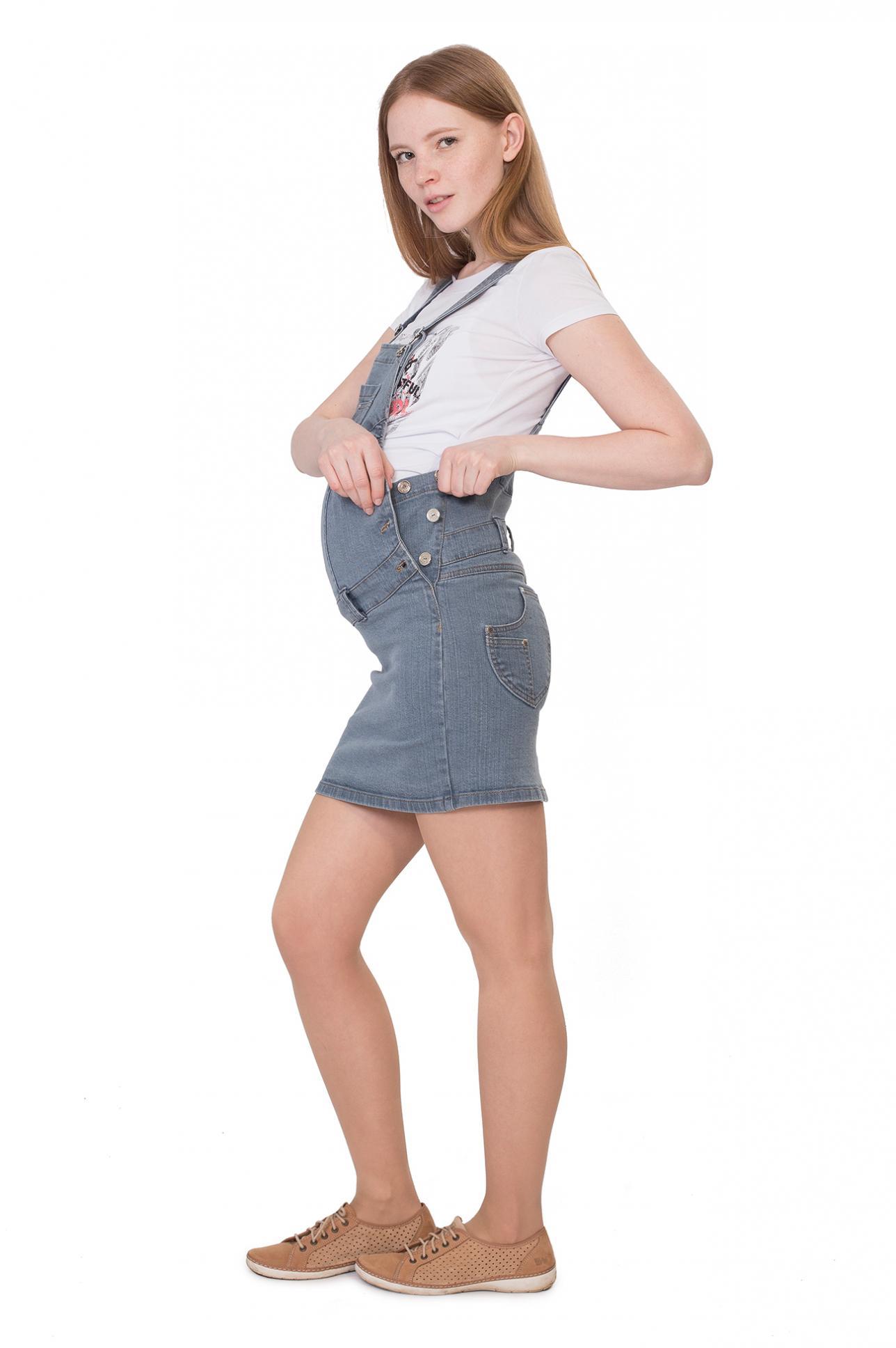 Сарафан для беременных джинсовый Сарафан для беременных джинсовый ... 6fe9997d5d1